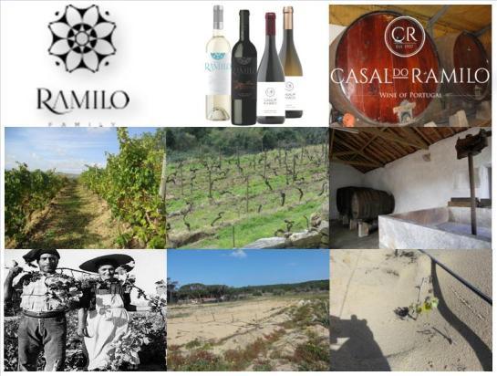 Casal do Ramilo. 2630 - Alqueidão, Mafra. Portugal Contactos Tel. +351 219 611 453 Email. info@ramilowines.com