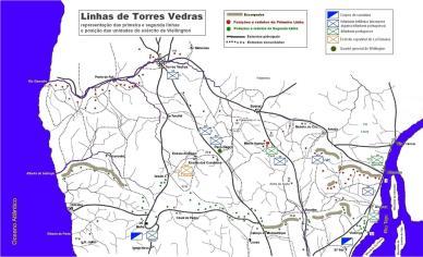 linhas de torres mapa