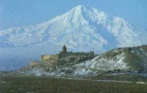 Monte Ararat onde consta que encalhou a embarcação de Noé após o diluvio