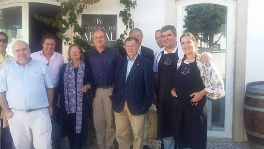 Almoço do Colégio de Júris do I Concurso de Vinhos de Alenquer, na Tabrna do Areal