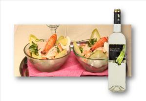 Cocktail de camarões