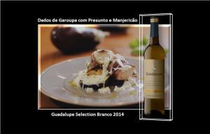Dados de Garoupa com Presunto e Manjericão