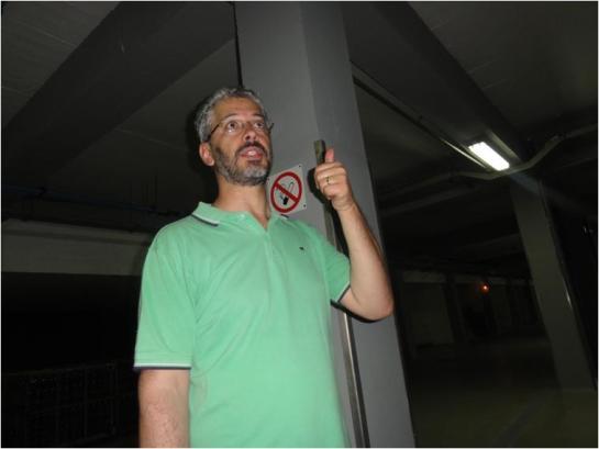 Enólogo, Engº Ruii Veladas. Ex-aluno do Prof. Virgílio Loureiro e Malfeito Ferreira, no ISA