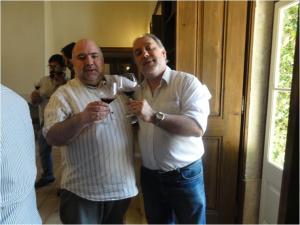 Com o Mário Feliciano das Novas Krónikas Viníkolas