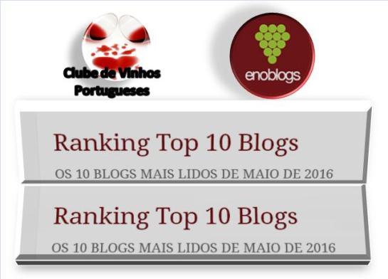 LOGO TOP 10 BLOGS MAIO