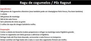 rpRagu de cogumelos – Pilz Ragout