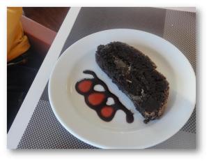 Torta de alfarroba
