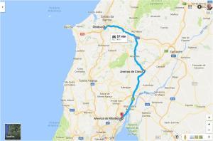 Itenerário 1 - Alverca, Aveiras e Óbidos