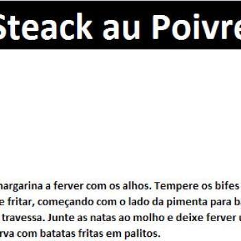 Steack au Poivre