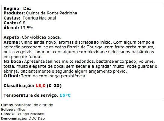 apreciacao-quinta-da-ponte-pedrinha-touriga-nacional-tinto-2014