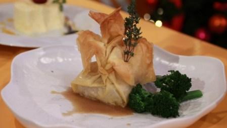 Filet Mignon com creme de vinho do Porto