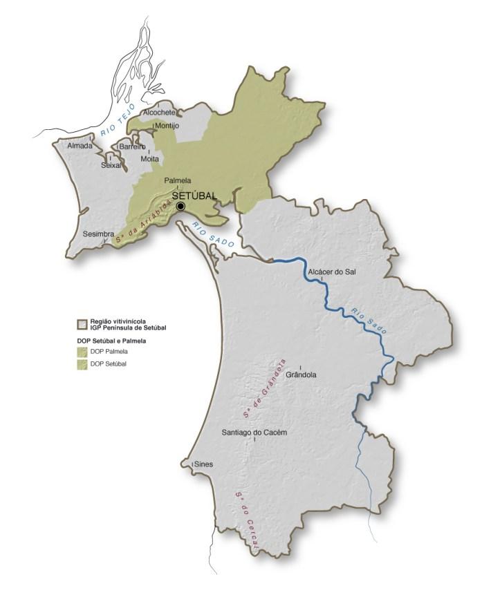 A região de vinhos da Península de Setúbal4