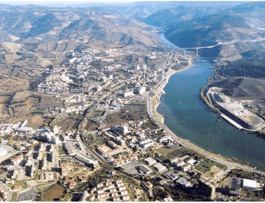 A cidade e concelho de Peso da Régua