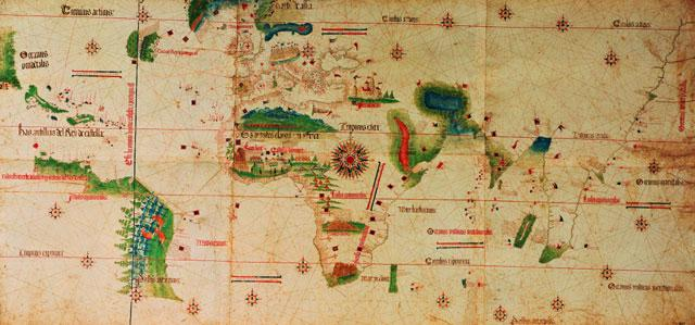 Planisfério de Cantino 1502