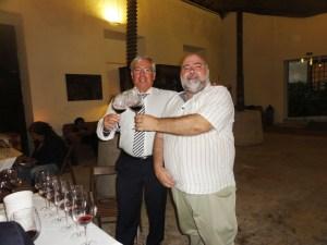 Com o ainda Presidente da Câmara do bombarral, Dr. José Manuel Vieira
