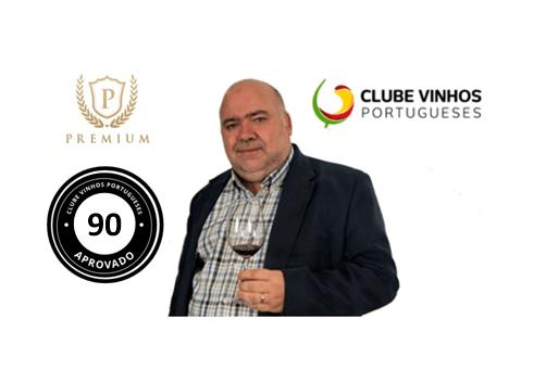 Ranking Premium Clube de Vinhos Portugueses – Classificação Superior a 90 pontos