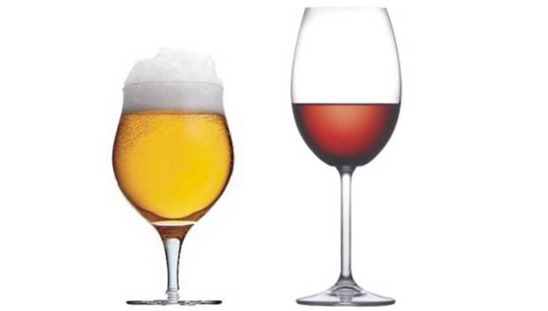 Vinho vs Cerveja