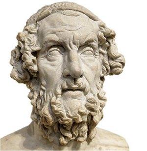 """Homero - """"Nenhum poema foi escrito até agora bebendo água"""""""