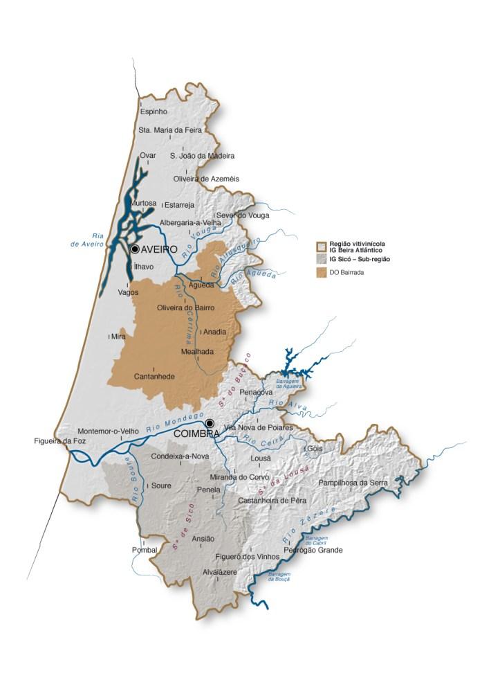 mapa bairrada