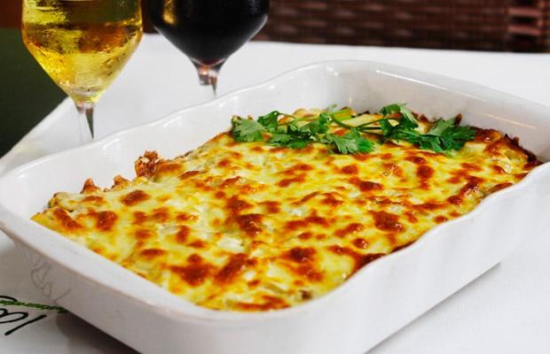 Universal prato de Bacalhau com Natas