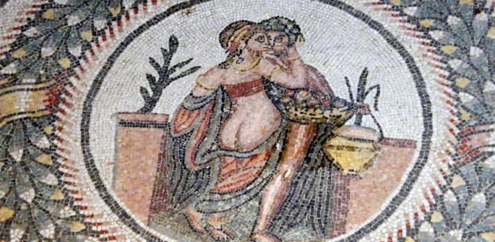 Il mosaico degli amanti a Piazza Armerina