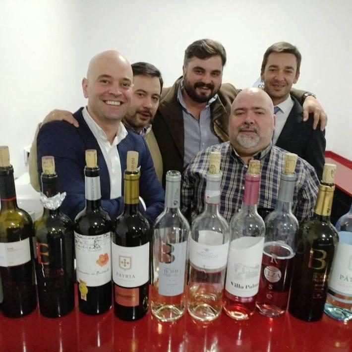 Com a equipa do Clube de Vinhos Portugueses