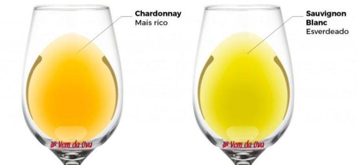 Tonalidades entre Chardonnay e Sauvignon Blanc