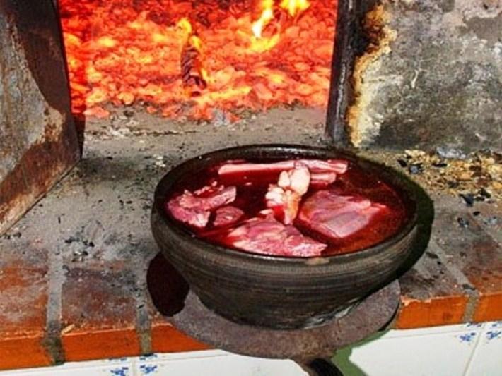 A típica e única Chanfana portuguesa 2