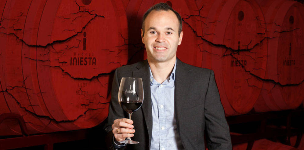 Andres Iniesta de jogador a produtor de vinhos
