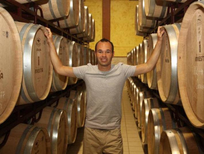 Andres Iniesta de jogador a produtor de vinhos 9
