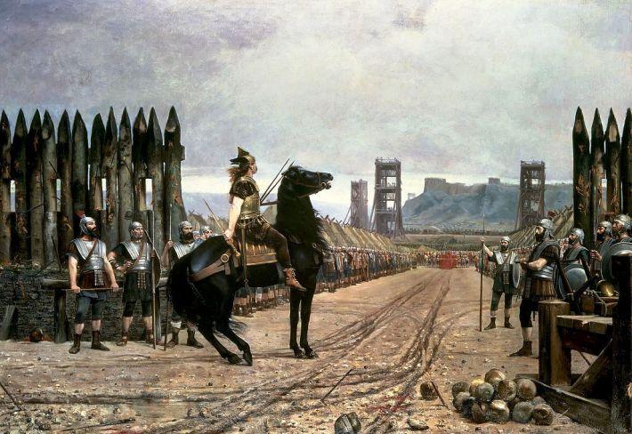Cerco romano a Vercingetórix 2