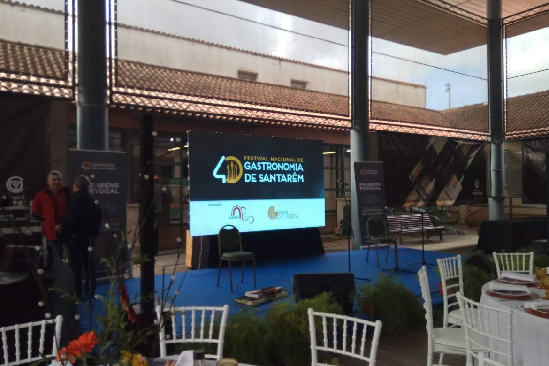 Cerimónia de apresentação das celebrações do 40.º Aniversário do Festival Nacional de Gastronomia
