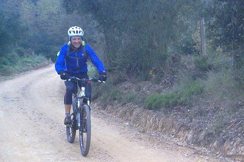 Sortida amb bicicleta a Brunyola 3 - Diumenge, 7 de novembre de 2010