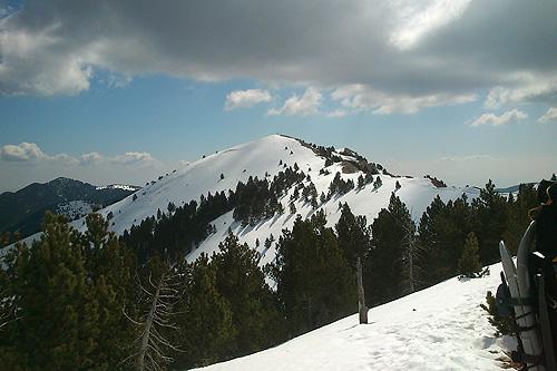 Gallina Pelada (serra d'Ensija) 2 - Diumenge, 1 d'abril de 2012