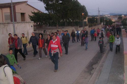 Caminada nocturna 2 - Dissabte, 24 de març de 2012