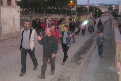 Caminada nocturna 5 - Dissabte, 24 de març de 2012