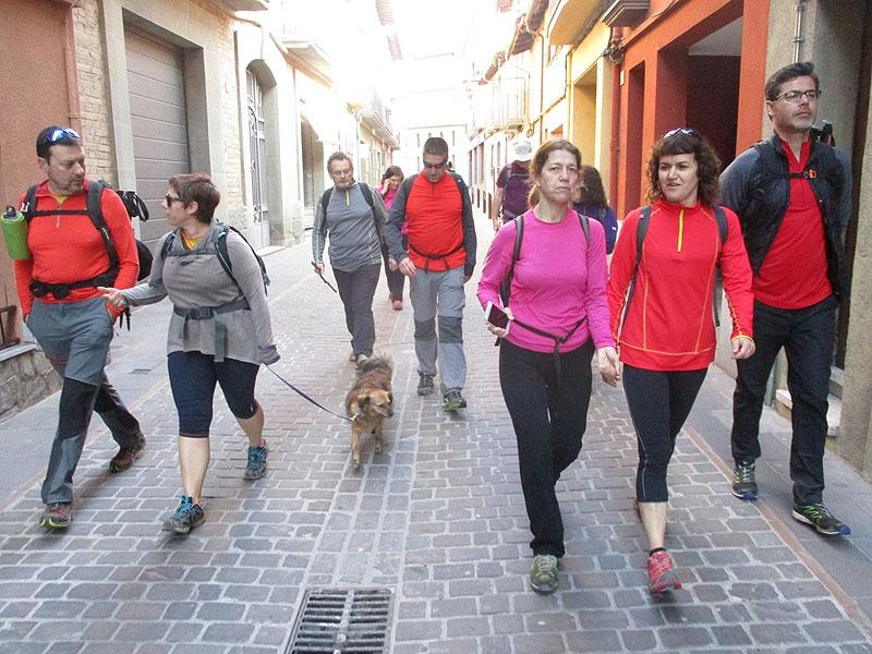 Camí de Sant Jaume: Vall d'en Bas - L'esquirol - Vic 53 - 18 i 19 de març de 2017