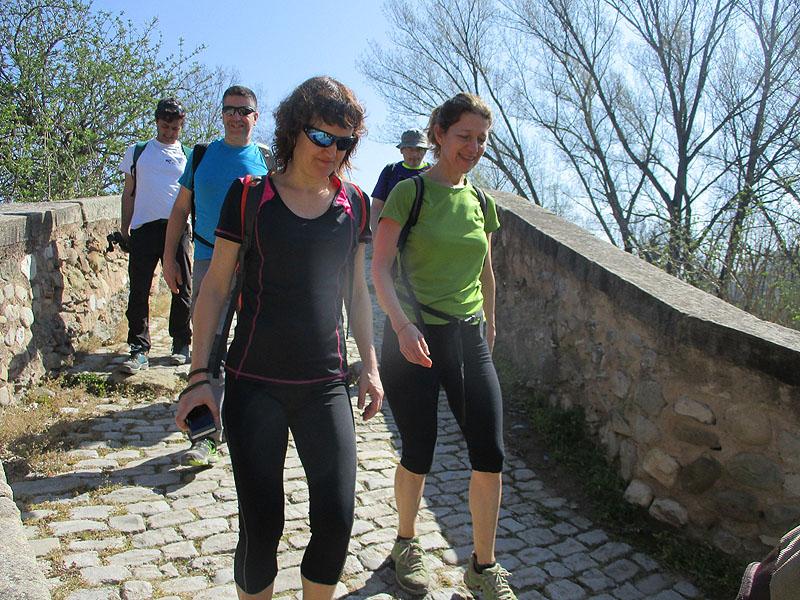 Camí de Sant Jaume: Vall d'en Bas - L'esquirol - Vic 60 - 18 i 19 de març de 2017