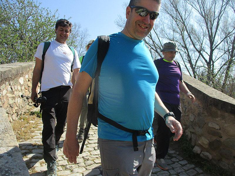 Camí de Sant Jaume: Vall d'en Bas - L'Esquirol - Vic 61 - 18 i 19 de març de 2017