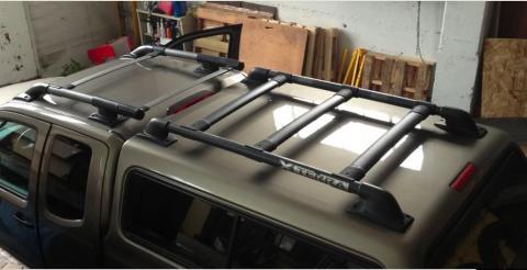 roof rack 05 king cab photos install