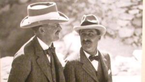 Lord Carnarvon e Howard Carter