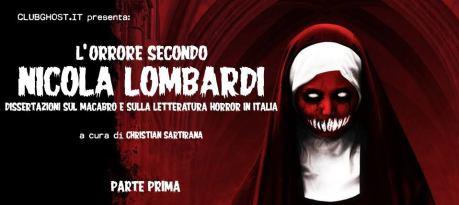 L'orrore secondo Nicola Lombardi 1° parte