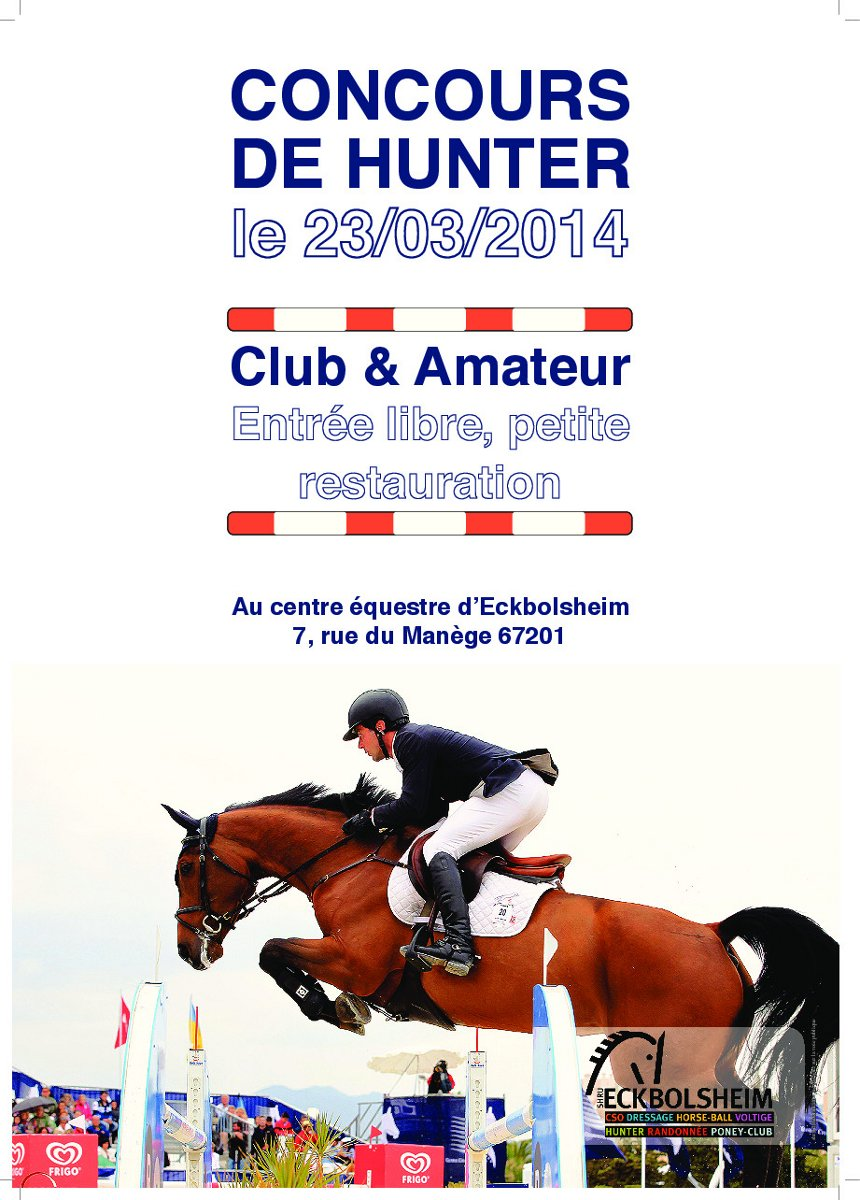 Concours hunter Alsace