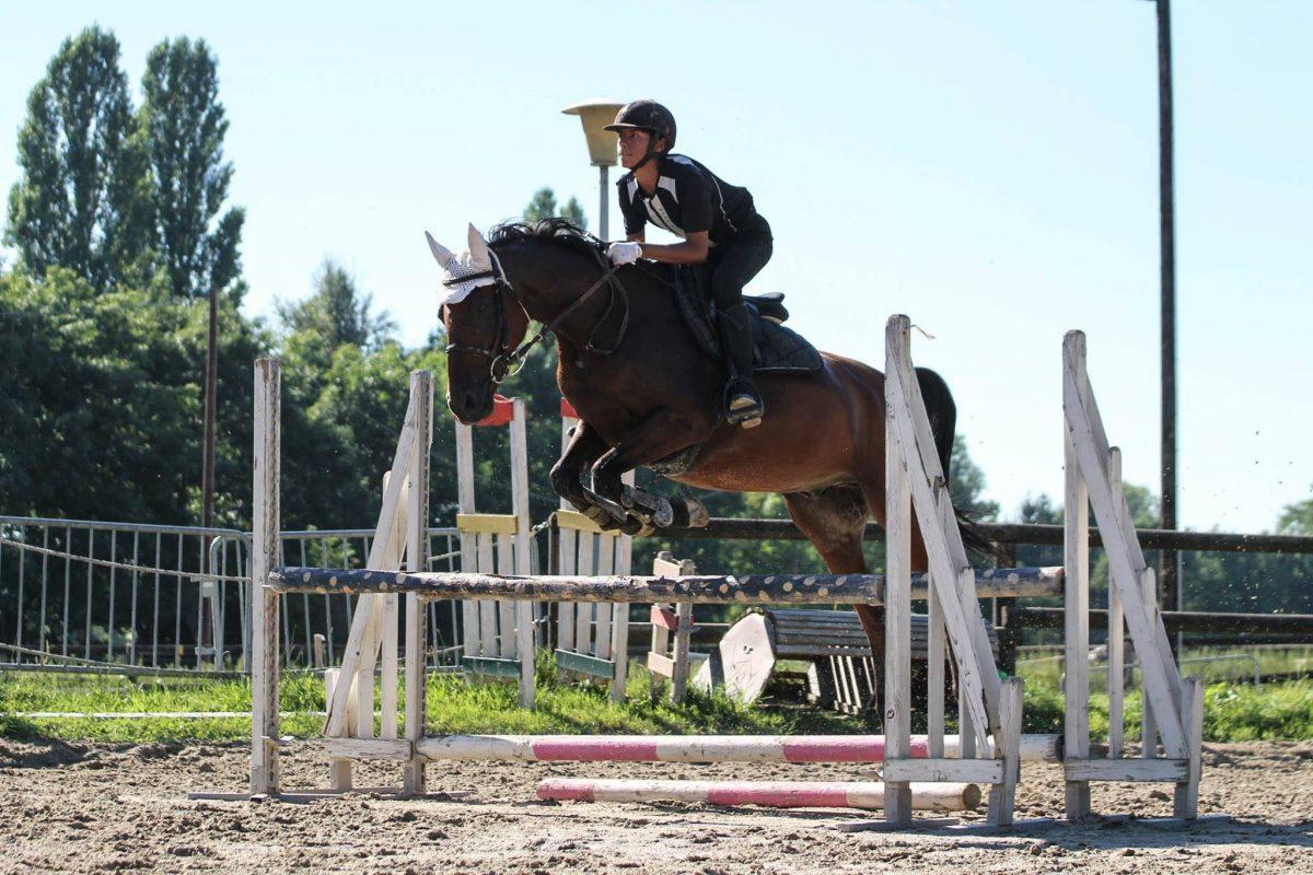 Super saut d'obstacle !