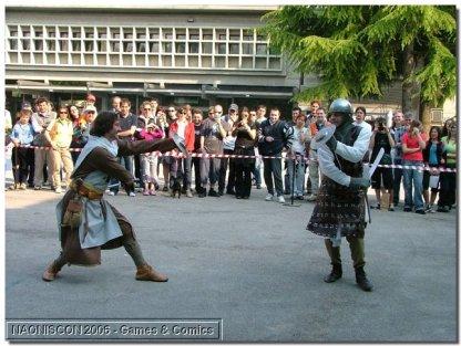39f_Scherma_medievale_Falcione_e_rotella