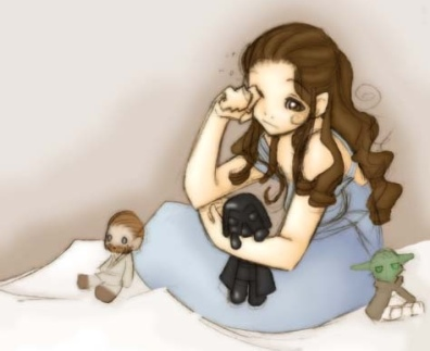 Sleepy Padme by Ruby-Chan on DeviantArt.com