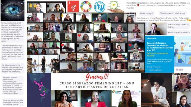 Capacitan para liderazgo de mujeres en tecnología
