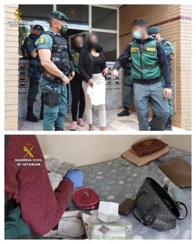 Diez detenidos en España por explotación sexual de mujeres sudamericanas
