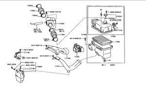 stock air intake diagram  ClubLexus  Lexus Forum Discussion