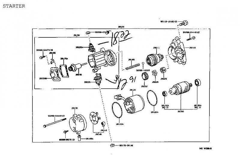 1997 lexus ls400 alternator wiring diagram